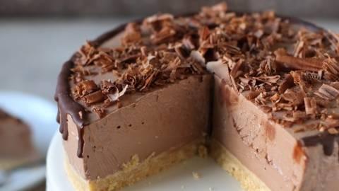 Skutino-čokoladna tortica