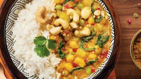 Curry z zelenjavo