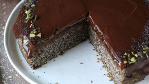 Čokoladno makova tortica
