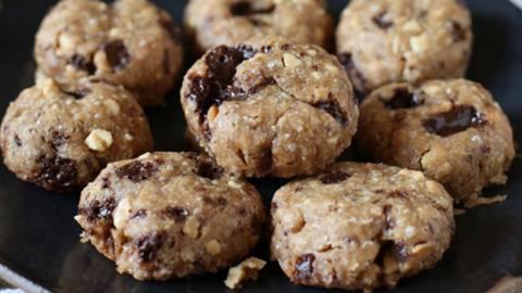 Hitri čokoladno arašidovi piškoti