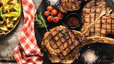 Viteški steaki s prilogo