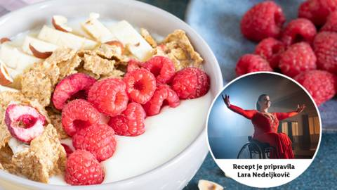 Zmagovit obrok: Larin poletni zajtrk