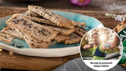 Zmagovit obrok: Dejanovi hrustljavi krekerji