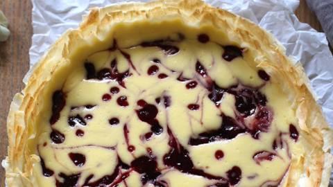 Skutina pita z marmelado