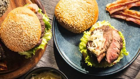 Bograč burger