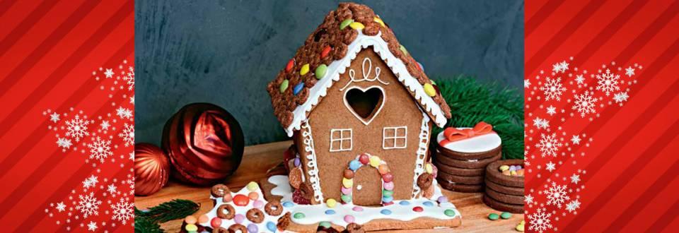 Sladka hišica z bonboni