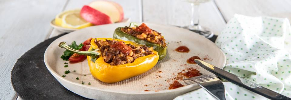 Polnjene paprike iz pečice