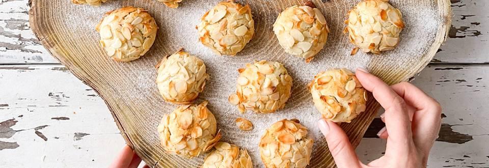 Mandljevo kokosovi piškoti