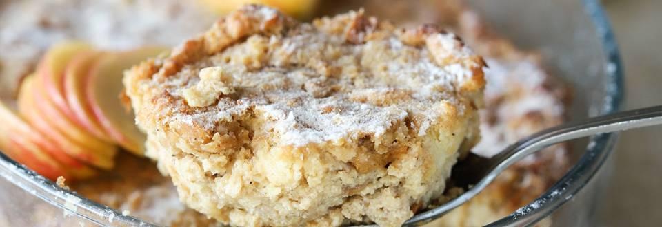 Kruhov narastek s skuto in jabolki