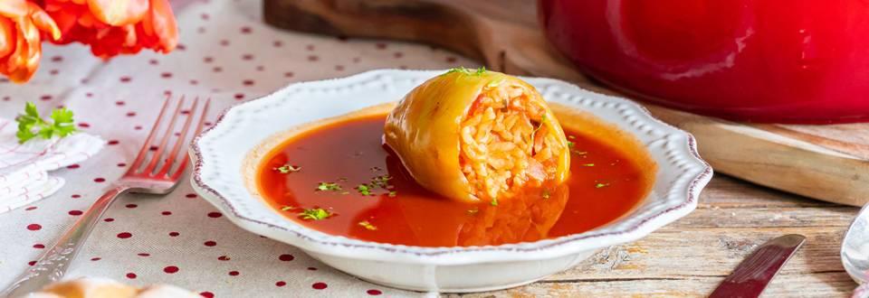Recikirana polnjena paprika
