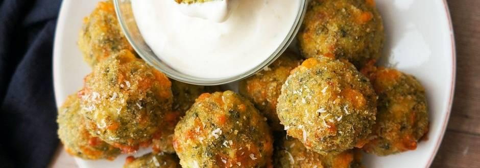 Brokolijeve kroglice s sirom