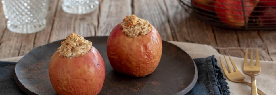 Pečena polnjena jabolka