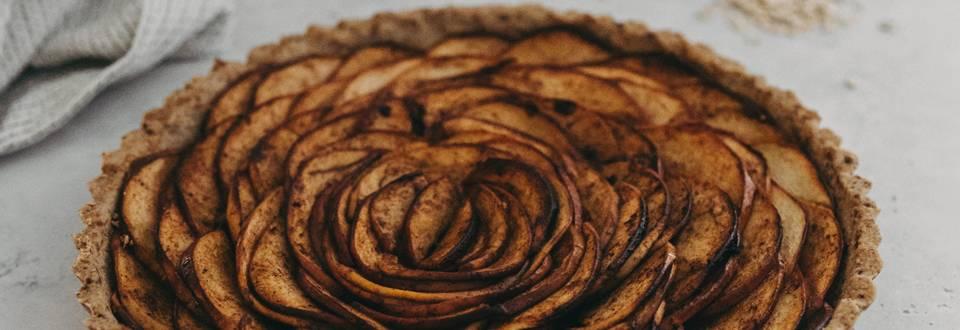 Veganska jabolčna pita