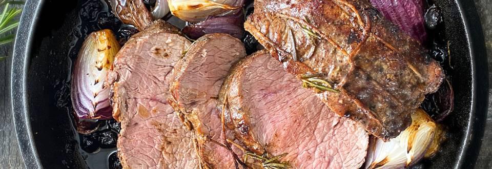 Deluxe pečenka  iz mladega govejega hrbta