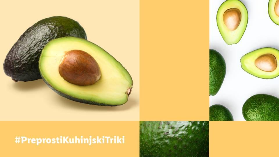 Preprosti kuhinjski triki: Kako preveriti svežino avokada?