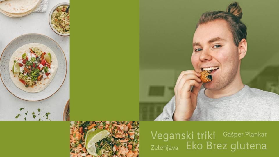 Vegansko gurmansko z Gašperjem