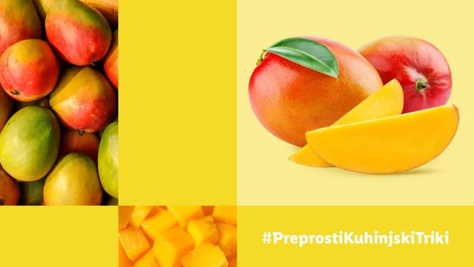 Kako narezati mango?